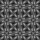 Design seamless twirl movement striped pattern