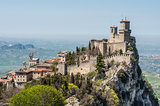 The Guaita fortress is most famous tower in San Marino
