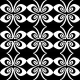 Design seamless decorative butterfly pattern