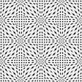 Design monochrome seamless mosaic pattern