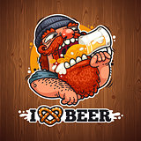 Man Loves Beer