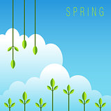 Spring Background Icon