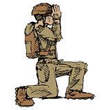 Kneeling Soldier