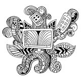 Zentangle Technology Icon
