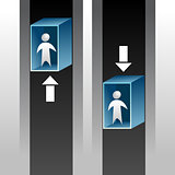Elevator Ride Icon