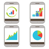 Mobile Finance Charts Icon
