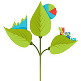 Organic Growth Icon