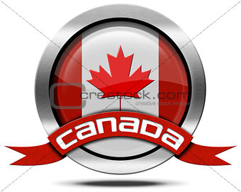 Canada Flag - Metal Icon