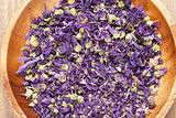 Purple flower spice