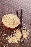 Brown rice.