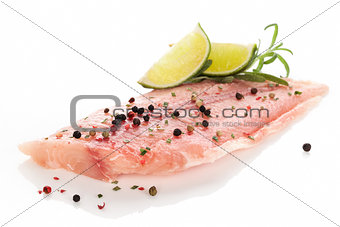 Fish fillet.