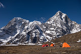 Himalayan base camp