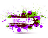 Colored modern vector acrylic wallpaper, eps8 blob seamless patt