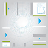 Abstract lines, clear eps 8 vector.