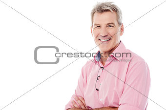 Casual image of a matured man