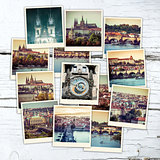 collage Prague Sights