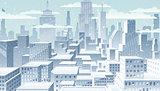 Cityscape Winter