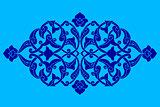 artistic ottoman pattern series fifty eight