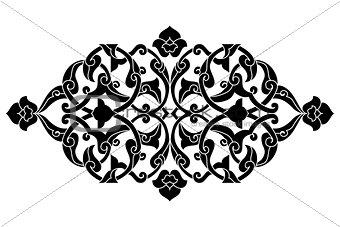 artistic ottoman pattern series fifty seven
