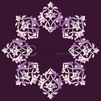 artistic ottoman pattern series sixty four