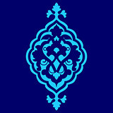 artistic ottoman pattern series sixty seven