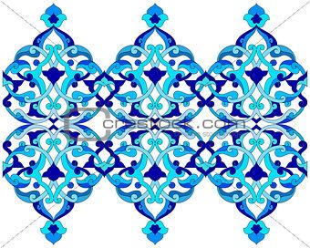 artistic ottoman pattern series sixty six