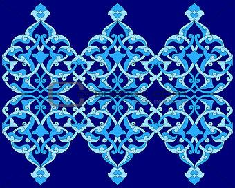 artistic ottoman pattern series sixty