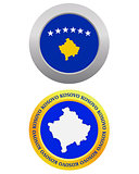 button as a symbol  KOSOVO