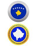 button as a symbol  KOSOVO