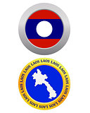 button as a symbol  LAOS