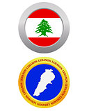 button as a symbol  LEBANON