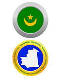 button as a symbol  MAURITANIA