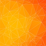 Abstract triangle mosaic gradient background