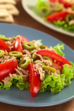Tuna, Tomato and Olive Salad