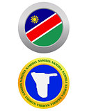 button as a symbol  NAMIBIA