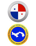 button as a symbol PANAMA