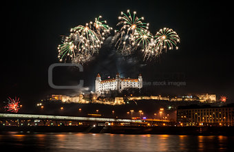 Fireworks on the Castle