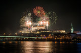 Fireworks on the Castle