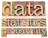 data, statistics and probability