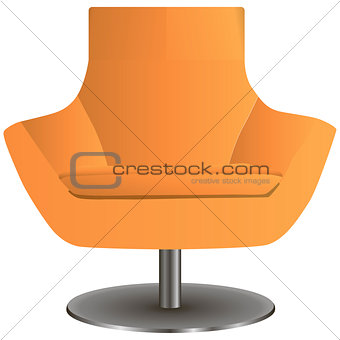 Chair on the central leg