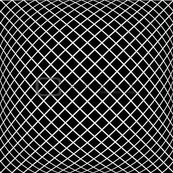 Black diagonal pattern in vector