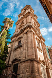 Cathedral in Malaga, Andalusia, Spain