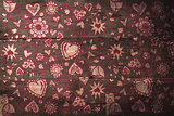 Composite image of valentines pattern