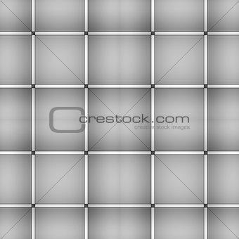 Grey square seamless pattern.