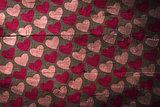 Composite image of valentines day pattern