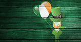 Composite image of st patricks day graphics