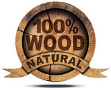 Icon 100 Percent Natural Wood