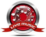 Live Music - Metal Icon