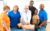 Adult Education First Aid Class