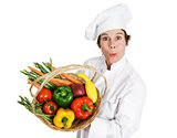 Chef - Locally Sourced Vegetables